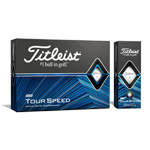 8108 Titleist NEW Tour Speed Golf Balls