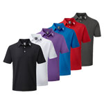 9926 Footjoy Stretch Pique Solid Colour - Athletic Fit